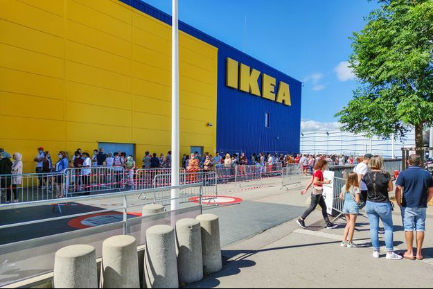 Ikea à Montpellier.
