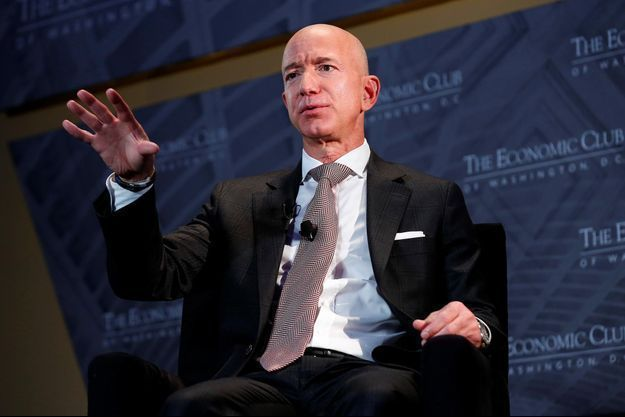 Jeff Bezos, en novembre 2018.