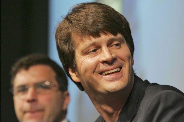 John Hanke en 2007. Il est à l'époque à la tête de Google Earth & Maps.