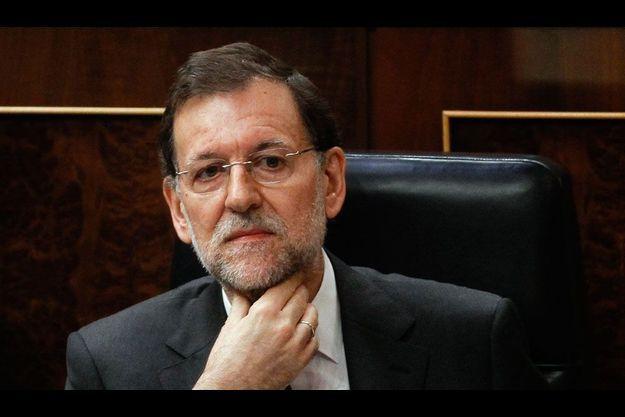 Le Premier ministre espagnol, Mariano Rajoy.