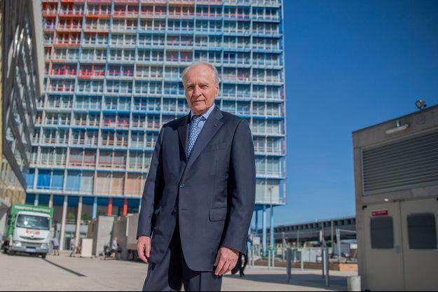 Xavier Huillard a inauguré la tour La Marseillaise, dessinée par Jean Nouvel, le 25 octobre à Marseille.
