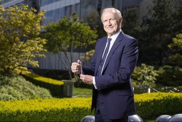 Au siège mondial de L'Oréal, à Clichy. Il signe, pendant le premier trimestre 2019, une augmentation de 11,4 % des ventes, à 7,55 milliards d'euros.