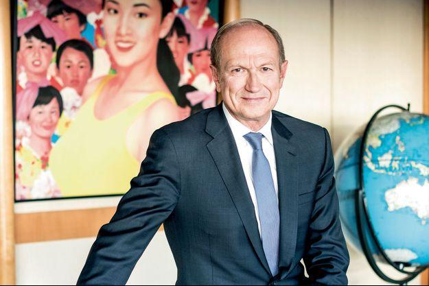 Jean-Paul Agon, P-DG de l'Oréal, est entré dans le groupe à sa sortie d'HEC, en 1978.
