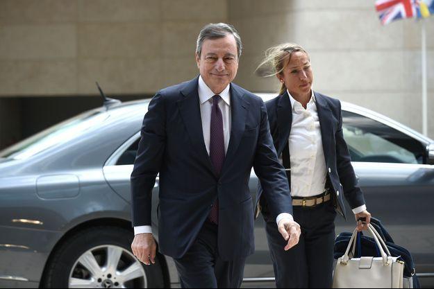 Mario Draghi à Luxembourg, jeudi dernier.