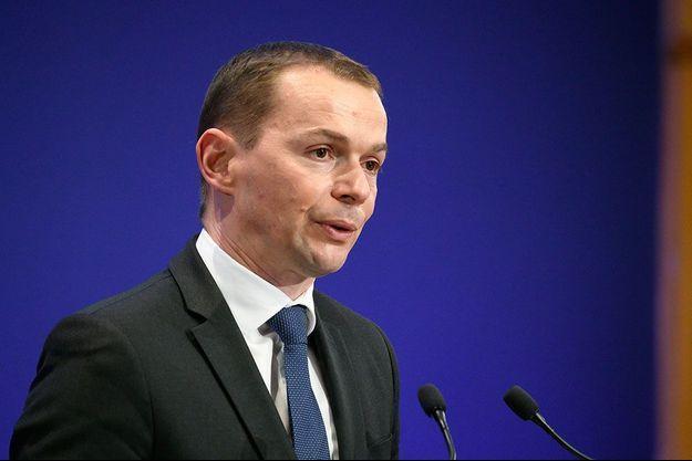 Le ministre des Comptes publics, Olivier Dussopt, début avril.
