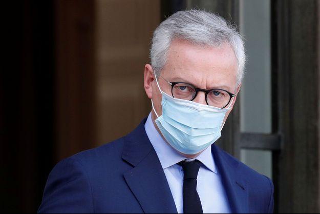 Bruno Le Maire à l'Elysée mercredi dernier.