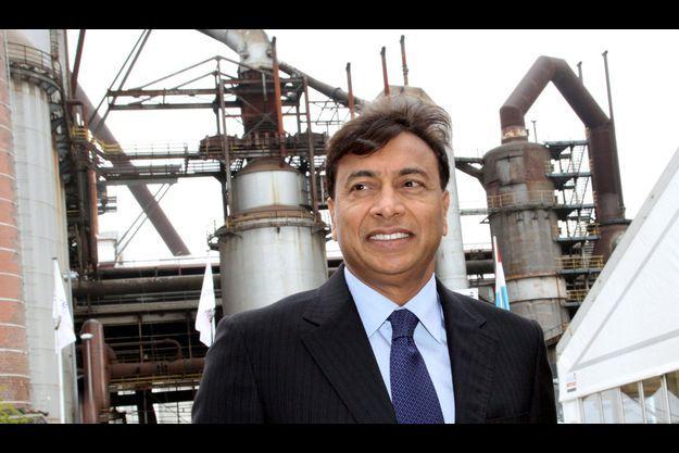 Lakshmi Mittal, P.-DG d'Arcelor Mittal.