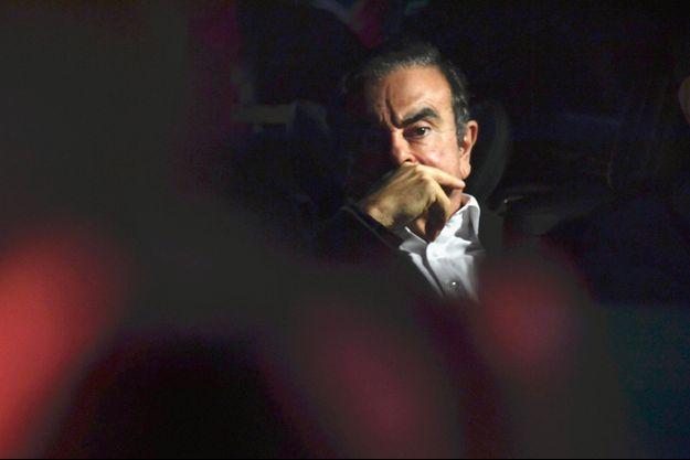 Carlos Ghosn le 6 mars dernier à Tokyo.