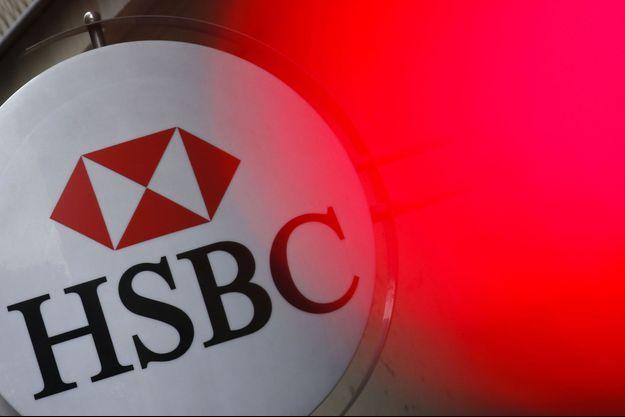 Une enseigne HSBC à Paris