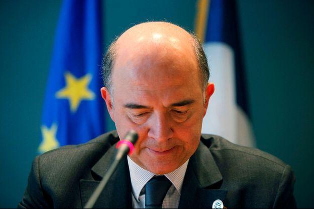 Pierre Moscovici à Washington le 20 avril.