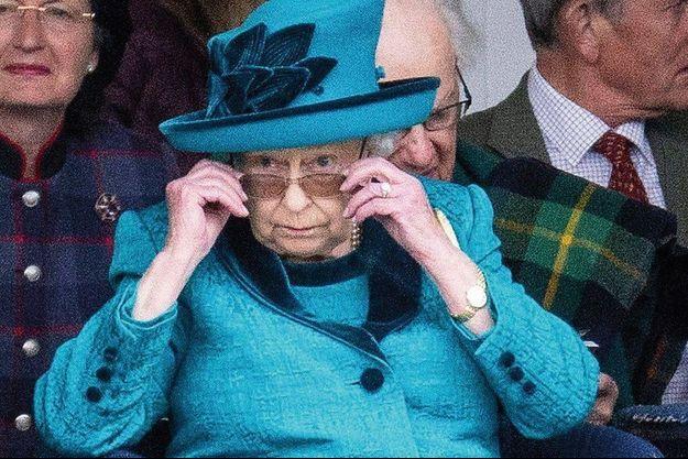 Elizabeth II en Ecosse le 1er septembre.