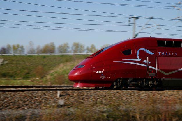 Un train Thalys. Image d'illustration.
