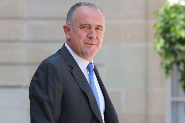 Didier Guillaume le 24 juillet à l'Elysée.