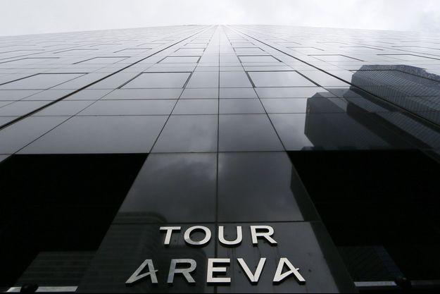 Au pied de la tour Areva à la Défense, en 2015. (photo d'illustration)