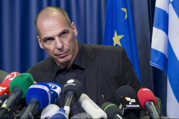 Yanis Varoufakis, samedi, à Bruxelles.