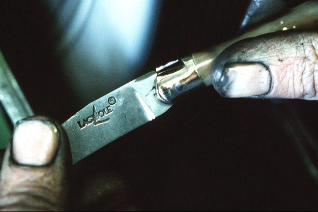 Un véritable couteau Laguiole nécessite 150 étapes de fabrication.