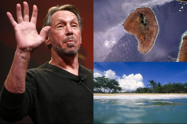 Larry Ellison, fondateur de l'entreprise Oracle, s'est offert Lanai, une petite île hawaïenne.