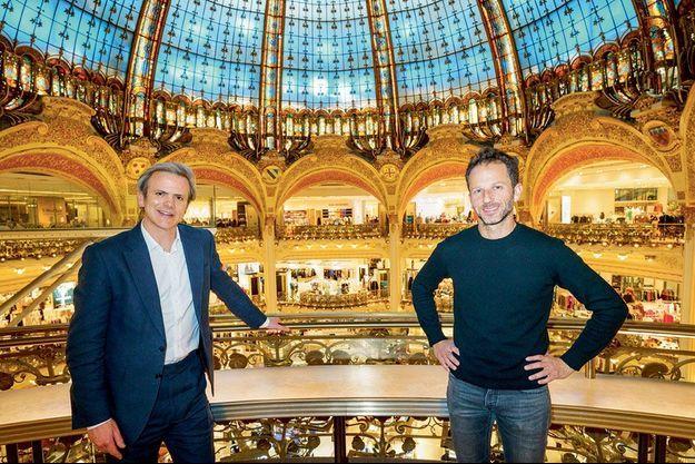Laurent Milchior et Guillaume Houzé s'engagent pour une mode durable