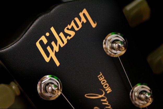 Le logo Gibson.