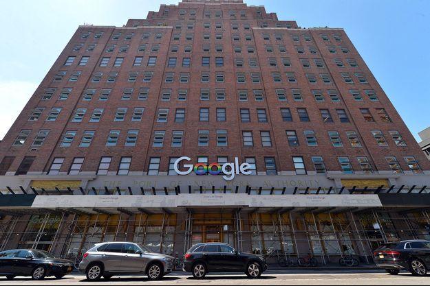 Les locaux new-yorkais de Google, en juillet dernier.