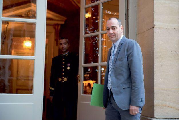 Le secrétaire général de la CFDT, Laurent Berger, le 11 janvier à Matignon.