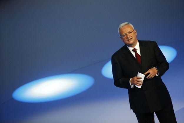 Martin Winterkorn, le patron du groupe Volkswagen, a annoncé sa démission mercredi.