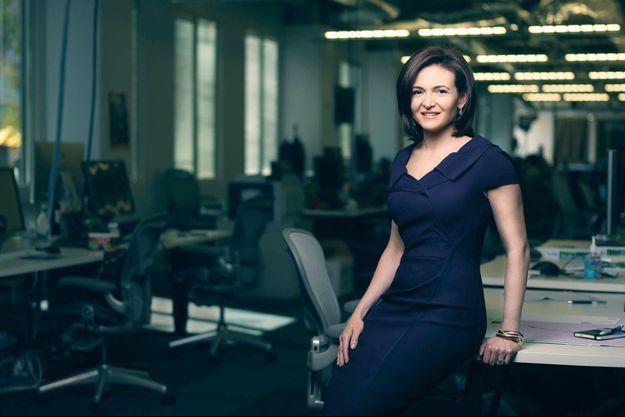 Au siège de Facebook, à Menlo Park, en Californie. La star de la Silicon Valley a été classée par « Forbes », en 2012, dixième femme la plus puissante du monde.