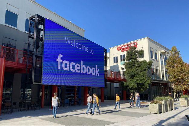Le siège de Facebook à Menlo Park, en Californie, en novembre 2019.