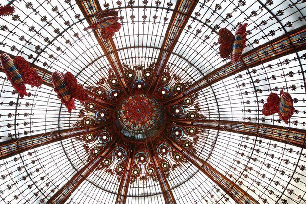 Les Galeries Lafayette Haussmann rouvriront dès samedi.
