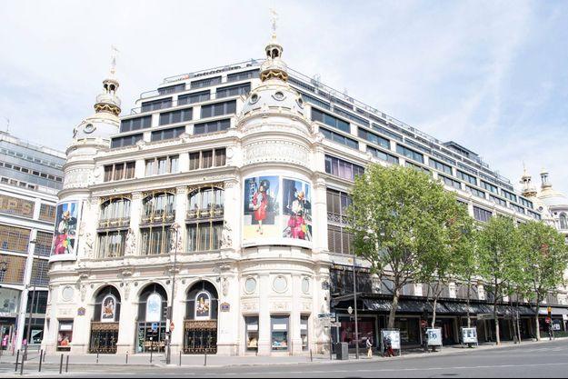 Les grands magasins parisiens ne devraient pas rouvrir avant le 10 juillet.