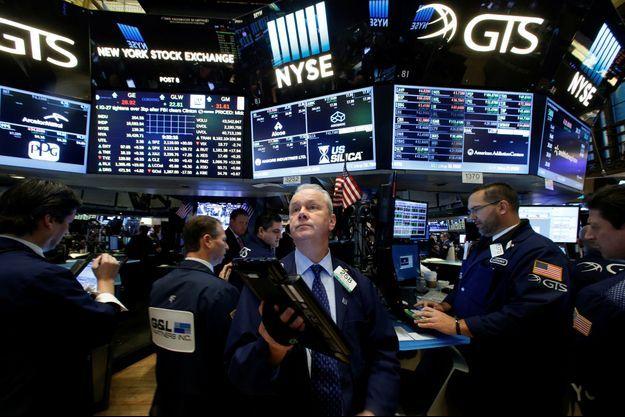 L'heure était à l'inquiétude à la bourse de New York.