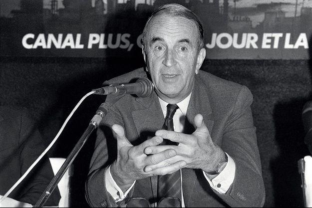 André Rousselet en octobre 1984.
