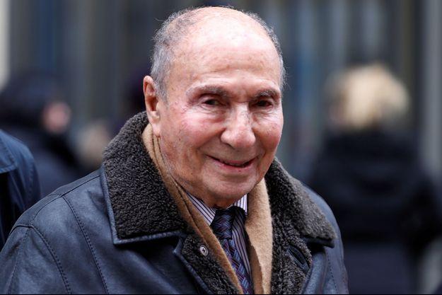 Serge Dassault, ici en novembre 2016 à Paris.