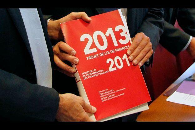 Le projet de loi de finances 2013 du gouvernement, à l'origine des protestations des Pigeons.
