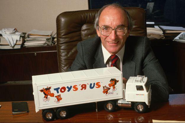 """Charles Lazarus, le fondateur de Toys """"R"""" Us."""