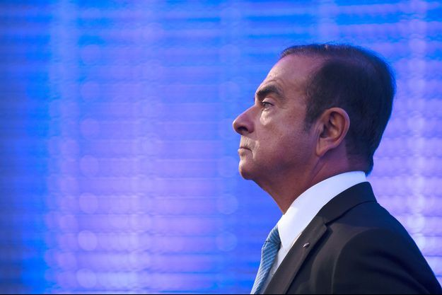 Carlos Ghosn en octobre 2017.