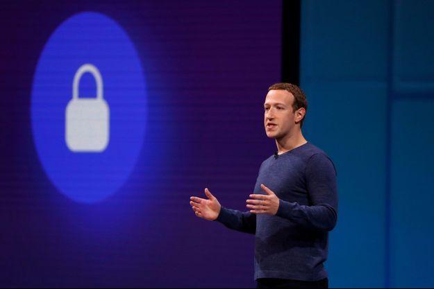 Mark Zuckerberg à San Jose, le 1er mai dernier, lors du F8, la grand-messe annuelle de Facebook.