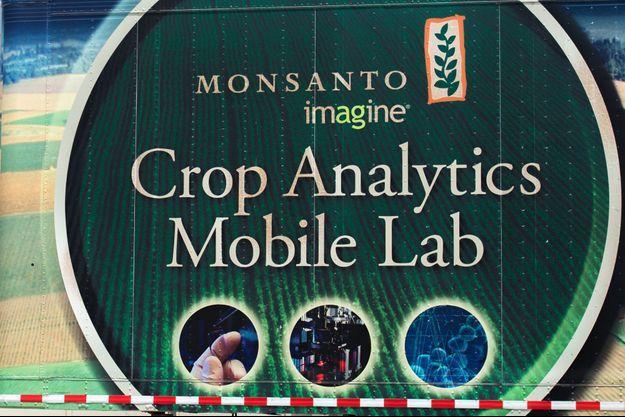 Logo du groupe Monsanto (photo d'illustration).