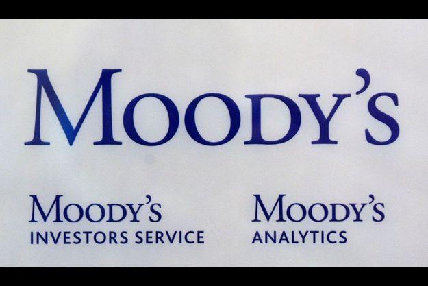 Le logo des bureaux français de Moody's.