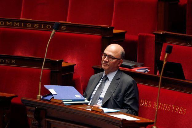 Pierre Moscovici à l'Assemblée, le 22 octobre dernier.