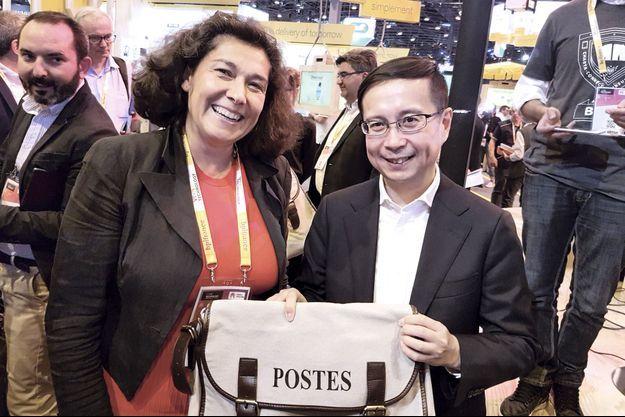 La directrice générale adjointe du groupe La Poste, 52 ans, est responsable du numérique depuis 2015.