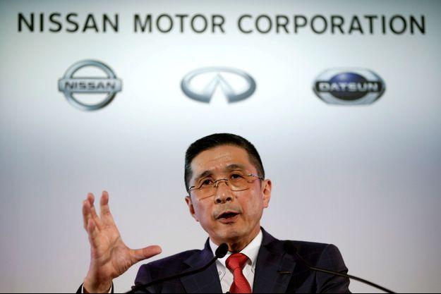 Hiroto Saikawa, le PDG de Nissan