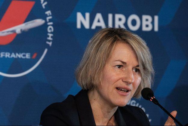 Anne Rigail à Nairobi au Kenya, en mars 2018.