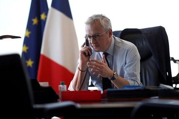 Bruno Le Maire, le 14 avril.