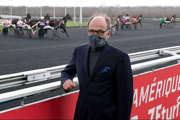 Emmanuel de Rohan Chabot à Vincennes, lors du Prix de Belgique, le 17 janvier dernier.