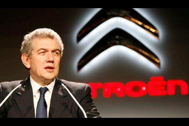 Christian Streiff, ex-patron de PSA Peugeot-Citroën. Sans poste.
