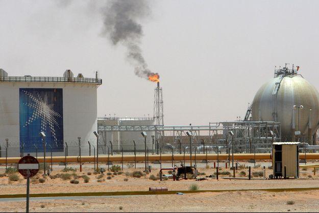 Une raffinerie en Arabie Saoudite.