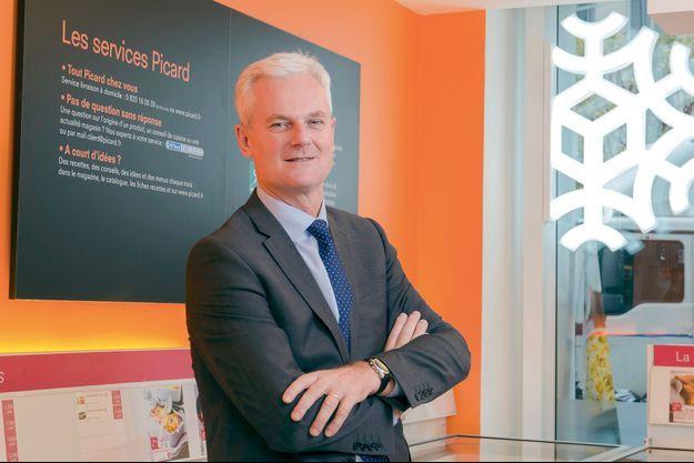 Philippe Dailliez, 55 ans, est à la tête de Picard depuis deux ans.