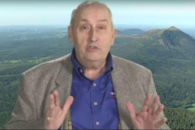 Pierre Papillaud dans une publicité Rozana.