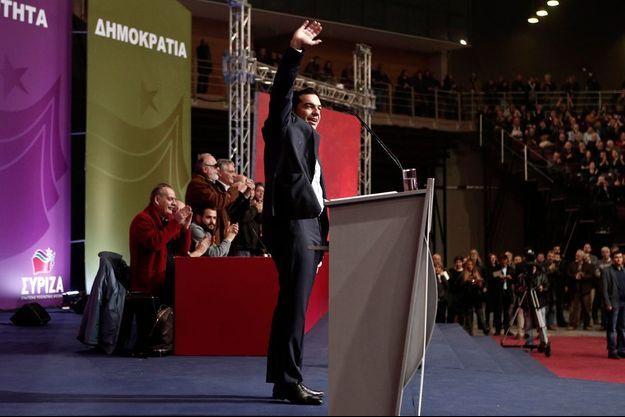 Alexis Tsipras, le leader de Syriza.